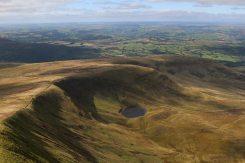 Llyn Cwm Llwch, from Corn Du, Brecon Beacons