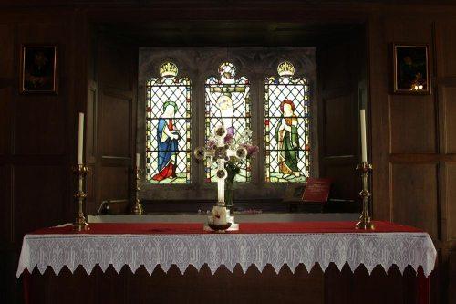 Altar, St. Sannan's Church, Bedwellty