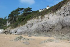 Cliffs, Caswell Bay, Gower