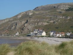 Great Orme, from West Shore, Llandudno