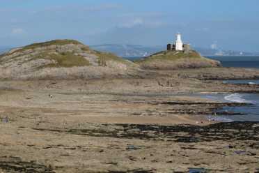 Middle Head and Mumbles Head Lighthouse, Mumbles