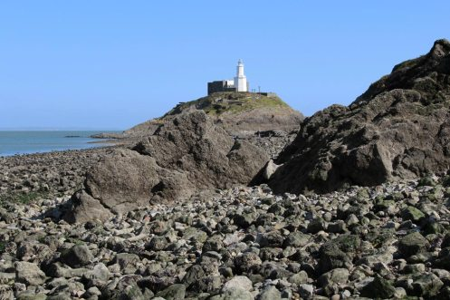 Mumbles Lighthouse, Mumbles Head, Mumbles
