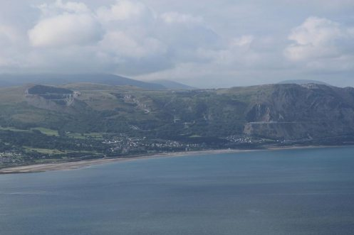Penmaenmawr and Conwy Bay, from Great Orme