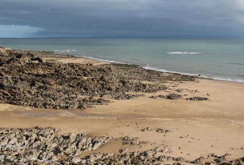 Rotherslade Bay, Langland Bay, Gower