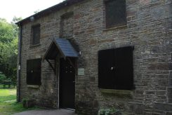 Ty Banc Cottage, where Will Evans lived, Neath Canal