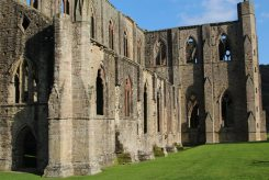 Abbey Church, South Front, Tintern Abbey, Tintern
