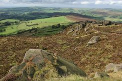 Cheshire Plain, from The Roaches