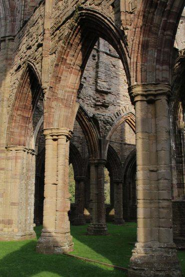 Interior, Abbey Church, Tintern Abbey, Tintern