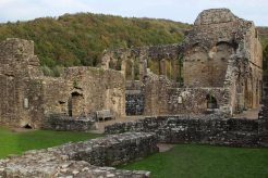 Monks' Refectory and Kitchen, Tintern Abbey, Tintern