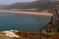 Rhossili Bay and Rhossili Down, Rhossili