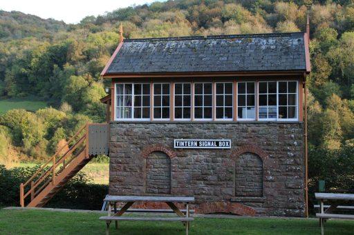 Signal box, The Old Station, Tintern