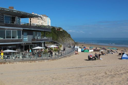 South Beach Bar Grill, South Beach, Tenby