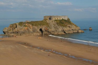 St. Catherine's Island, South Beach, Tenby