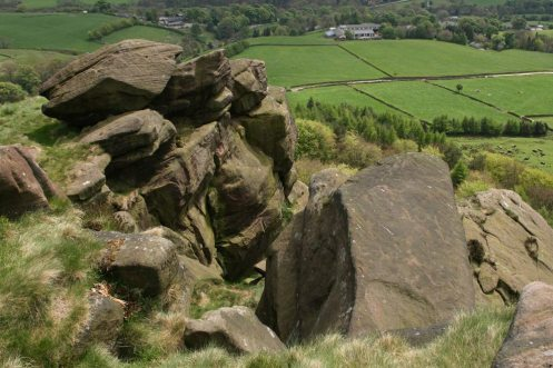 Summit of Hen Cloud, The Roaches