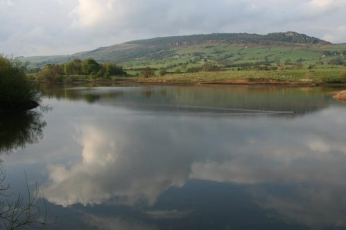The Roaches, from Tittesworth Reservoir