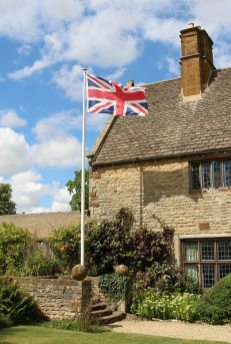 The Union Jack, Sulgrave Manor, home of George Washington's ancestors, Sulgrave