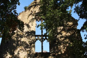 Traceried windows, Minster Lovell Hall, Minster Lovell