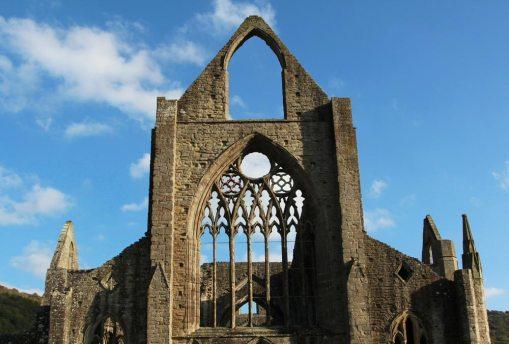 Windows, West Front, Abbey Church, Tintern Abbey, Tintern