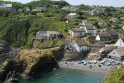 Cadgwith and The Todden, from coastal footpath