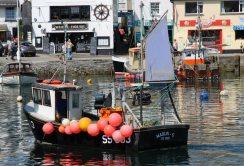 Fishing boat, Marlin-G SS683, Inner Harbour, Mevagissey