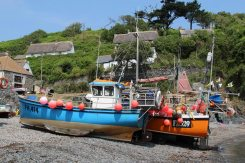 Fishing boats, Cadgwith Cove, Cadgwith