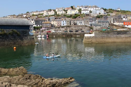 Inner Harbour and The Pool, (Outer Harbour) Mevagissey