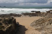 Little Fistral Beach, Towan Head, Newquay