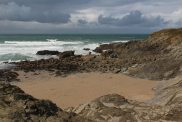 Little Fistral Beach, Towan Head, Newquay
