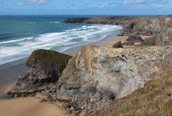 Pendarves Island and Bedruthan Steps