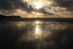 Sunset, Hayle Bay, Polzeath