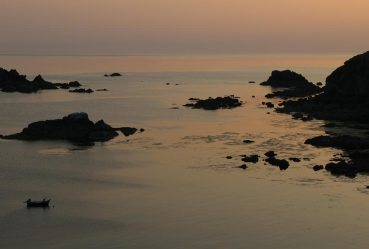 Sunset, Polpeor Cove, Lizard Point