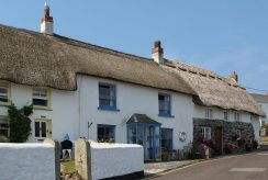 Thatched cottages, Coverack