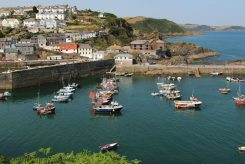 The Pool, (Outer Harbour) from Cliff Park, Polkirt Hill, Mevagissey