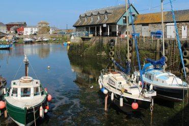 West Pier, Inner Harbour, Mevagissey