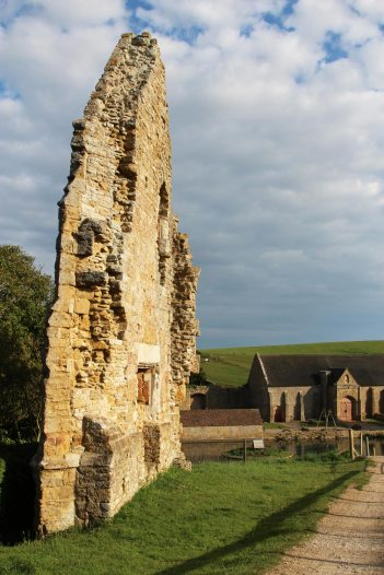 Gable End, Abbotsbury Abbey, Abbotsbury