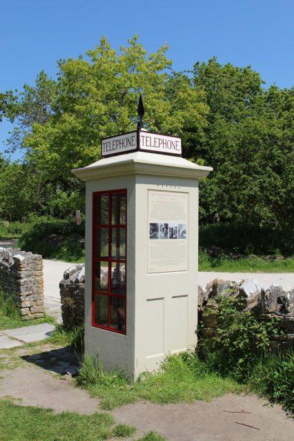 Telephone Kiosk, Tyneham