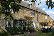The Abbey House tea gardens, Abbotsbury