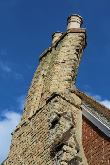 The Chimney, the House with the Crooked Chimney, Rye