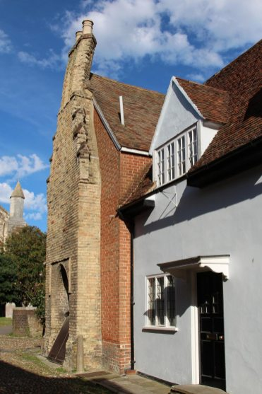 The Old Customs House, (the House with the Crooked Chimney) Rye
