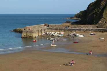 The Quay, from South West Coast Path, Gorran Haven