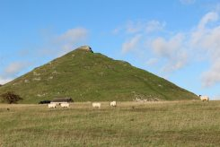 Thorpe Cloud, from Thorpe Pastures, Dovedale