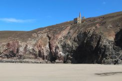 Wheal Coates Mine, from Chapel Porth