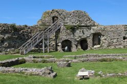 Chapel and North Tower, Inner Bailey, Pevensey Castle, Pevensey