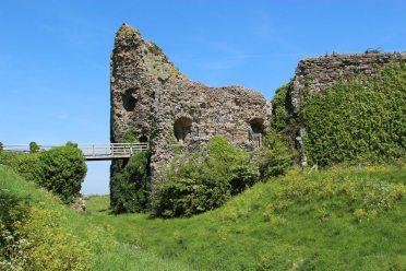 Gatehouse and Moat, Pevensey Castle, Pevensey