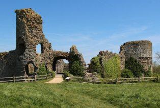 Gatehouse to the Inner Bailey, Pevensey Castle, Pevensey