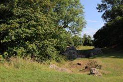 Ruins of curtain wall, Bramber Castle, Bramber
