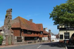 The Old Mint House and The Royal Oak & Castle Inn, Pevensey