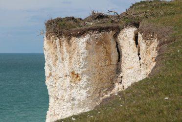 Cliff erosion, Seven Sisters