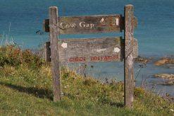 Signpost, Cow Gap, Beachy Head