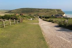 South Downs Way footpath to Birling Gap